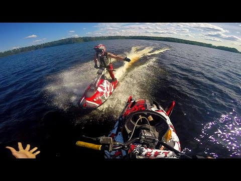 Watercross 200hp sled  -  100% GoPro 4 edit