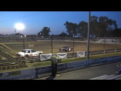 Rush County Fair | 6/27/17 | Thunder Cars | Feature - dirt track racing video image