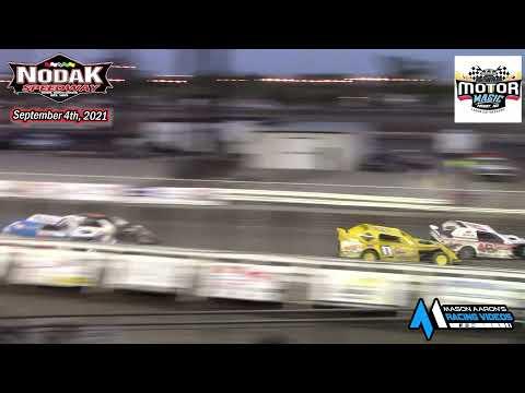 Nodak Speedway IMCA Sport Mod A-Main (Motor Magic Night #2) (9/4/21) - dirt track racing video image