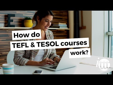 TEFL-TESOL Online Courses; how do they work?