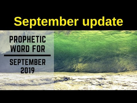 Daily Prophetic  September Follow up
