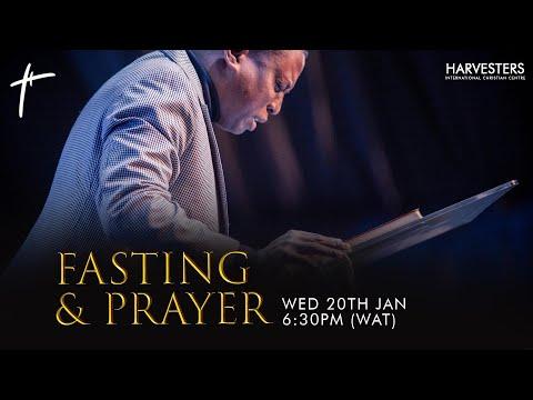 Fasting And Prayer: Pst Bolaji Idowu 20th January 2021
