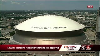 $450M in New Orleans Superdome upgrades approved by state