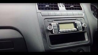 Smontaggio autoradio Volkswagen Polo MK5