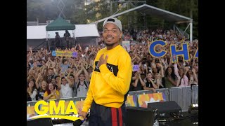 Catching up with Chance the Rapper live on 'GMA' | GMA