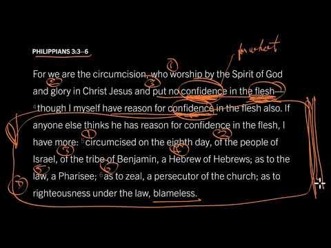 Philippians 3:27 // Put No Confidence in the Flesh