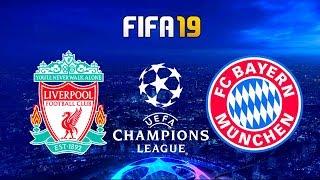 FIFA 19 | Bayern Munchen vs Liverpool - UEFA Champions League - Full Match & Gameplay