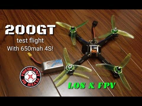 LDARC 200GT / FPV Egg Test Flight with GnB 650mah 4S from Crazepony-Power  - UCNUx9bQyEI0k6CQpo4TaNAw