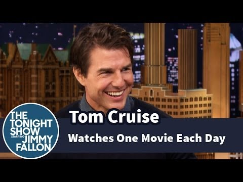 Watches One Movie Each Day at The Tonight Show Starring Jimmy Fallon