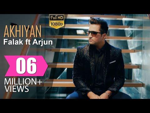 Akhiyan Lyrics - Falak Shabir feat Arjun | Punjabi / English Fusion Song