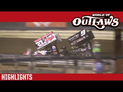World of Outlaws Craftsman Sprint Cars New Egypt Speedway May 24th, 2016 | HIGHLIGHTS - dirt track racing video image
