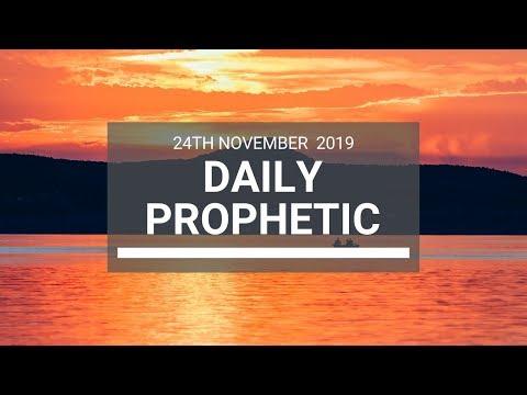 Daily Prophetic 24 November Word 7