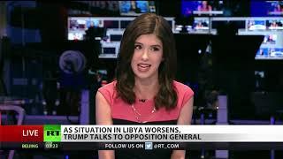 Trump Calls Mysterious Libyan Warlord