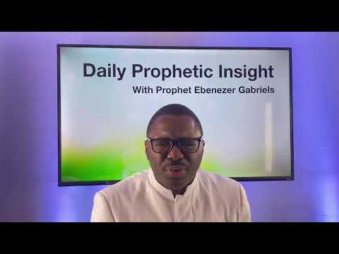 Prophetic Insight Feb 9th, 2021