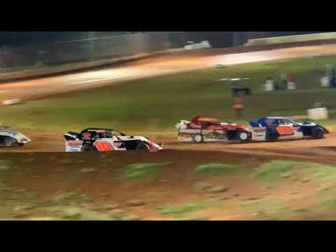 Red Dirt Raceway Sport Mod/B-Mod Heat Race #2 10/16/2021 Alex Wiens #10 - dirt track racing video image