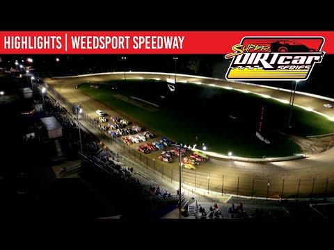 Super DIRTcar Series Big Block Modifieds Weedsport Speedway July 25, 2021   HIGHLIGHTS - dirt track racing video image