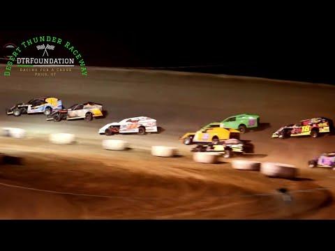 Desert Thunder Raceway IMCA Modified B-Main 9/24/20 - dirt track racing video image