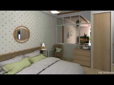 Une nouvelle chambre et une salle d'eau transformée