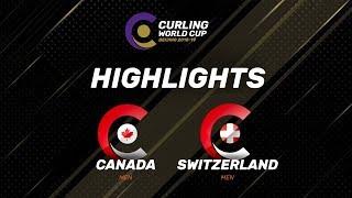 HIGHLIGHTS: Canada v Switzerland - Men - Curling World Cup Grand Final - Beijing, China