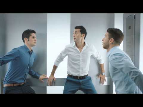 Nivea Men 'Stress Protect' Commercial (with Isco & Alvaro Arbeloa)