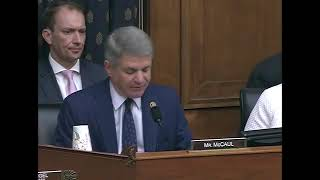 Lead Republican McCaul Opening Statement at Full Committee Markup of 10 Measures
