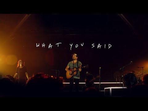 Jon Egan - What You Said (Official Live Video)