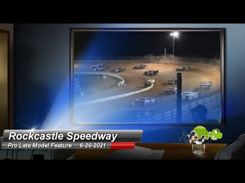 Rockcastle Speedway - Pro Late Model Feature - 6/26/2021 - dirt track racing video image