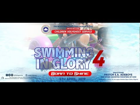 RCCG APRIL 2019 HOLY COMMUNION SERVICE - SWIMMING IN GLORY 4