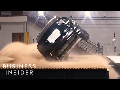 Why Tesla's Model X Was The First SUV To Receive A Perfect Crash Test Rating - UCcyq283he07B7_KUX07mmtA