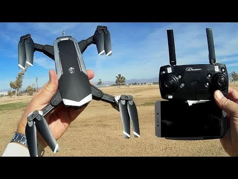 YH18S FPV 1080p Folding Camera Drone Flight Test Review - UC90A4JdsSoFm1Okfu0DHTuQ