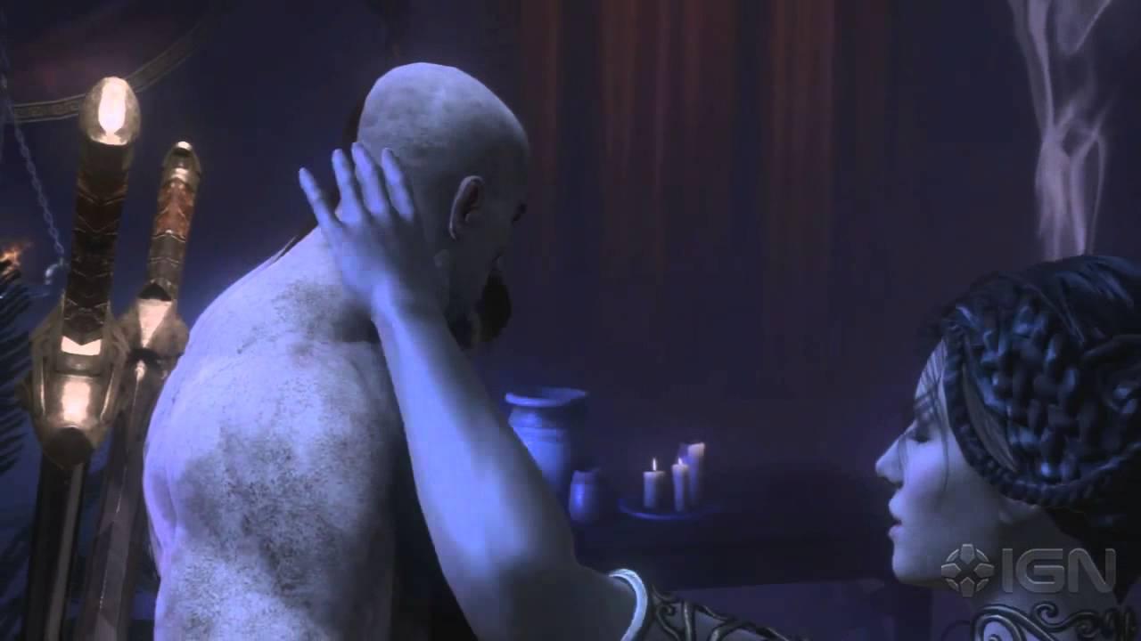God of war sex scene uncut