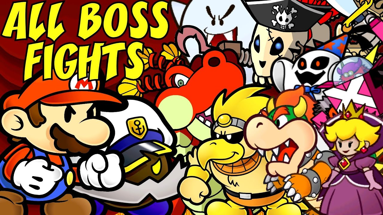 paper mario the thousand year door all bosses audiomania lt