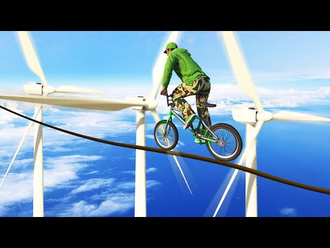 99.9% IMPOSSIBLE TIGHTROPE SKILLCOURSE! (GTA 5 Funny Moments) - UC0DZmkupLYwc0yDsfocLh0A