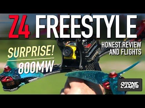 SURPRISED HOW GOOD IT IS - Aurora RC Z4 Freestyle Quad - Honest Review & Flights - UCwojJxGQ0SNeVV09mKlnonA