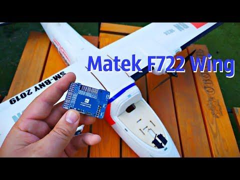 Установка  Matek F722-Wing на Sonicmodell Binary 1200mm, доработка самолета и подключение FPV. - UCrRvbjv5hR1YrRoqIRjH3QA