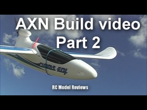 AXN Clouds Fly Floater Jet RC plane build video (part 2 of 3) - UCahqHsTaADV8MMmj2D5i1Vw