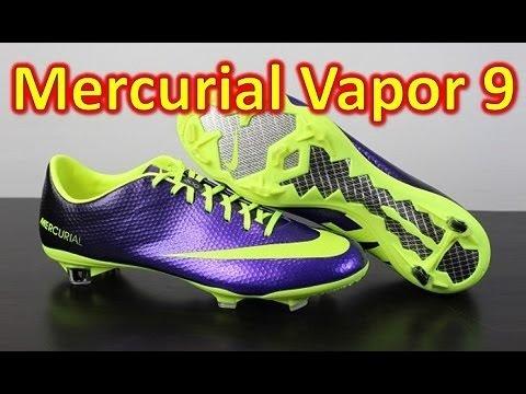 Nike Mercurial Vapor 9 IX Hi-Vis - Unboxing + On Feet - UCUU3lMXc6iDrQw4eZen8COQ
