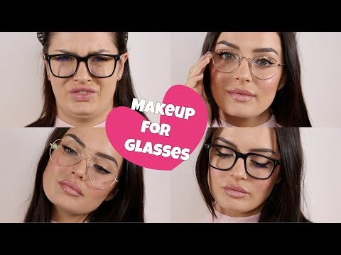 Everyday Makeup Tips for Glasses! + My Spectacle Collection - UCLFW3EKD2My9swWH4eTLaYw