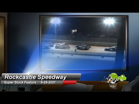 Rockcastle Speedway - Super Stock feature - 6/26/2021 - dirt track racing video image