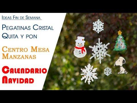 Ideas Fin de Semana Pegatinas de Quita y Pon, Centros de mesa Manzanas y Calendario Navidad - UCQpwDEZenMK6rzhLqCZXRhw