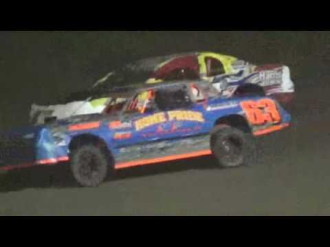 IMCA Stockcar Feature Marshalltown Speedway 9/16/16 - dirt track racing video image