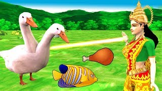 Watch Two Heads Duck Hindi Story Panchatantra Moral Stories
