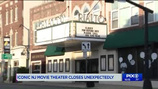 `It`s the history of Westfield!`: Rialto Movie Theater suddenly shut down