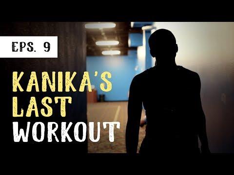 Jonathan Evans Vlog  Kanika's Last Workout