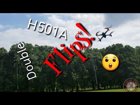 Hubsan H501A Double Flips!  - UCNUx9bQyEI0k6CQpo4TaNAw