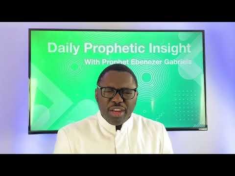 Prophetic Insight  Jan 24th, 2021