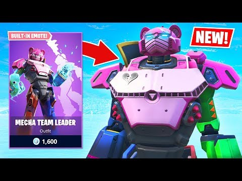 PLAY AS THE ROBOT!! New MECHA TEAM LEADER Item Shop Skin! (Fortnite Battle Royale) - UC2wKfjlioOCLP4xQMOWNcgg
