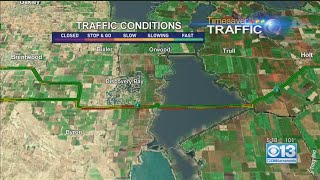 Multi-Vehicle Crash On Highway 4