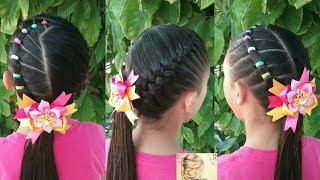 Peinados Faciles Y Bonitos Para Ninas Con Ligas