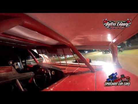 #21 Greg Scheffler - B Mod - 8-13-2021 Dallas County Speedway - In Car Camera - dirt track racing video image